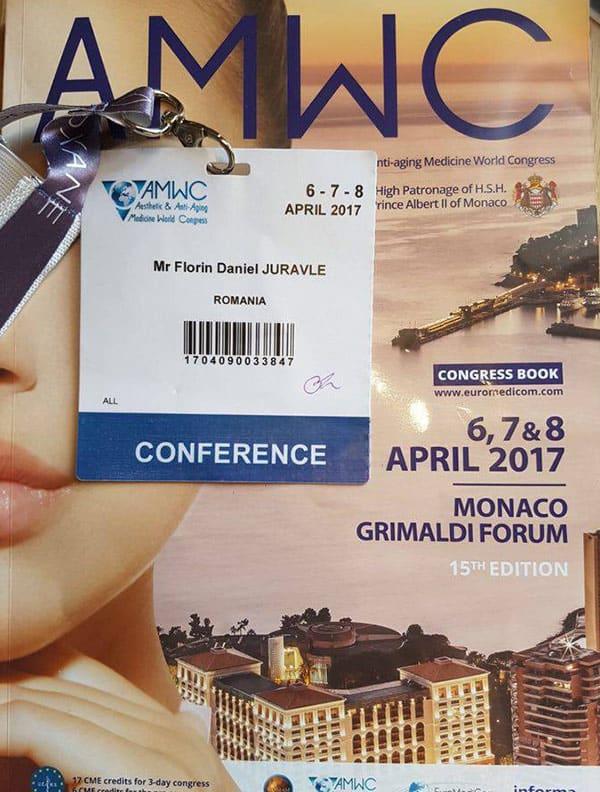 Congresul Inernational de Medicina Estetica Monaco, 2017