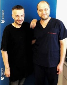Razvan Ciobanu cu dr Juravle - vedete