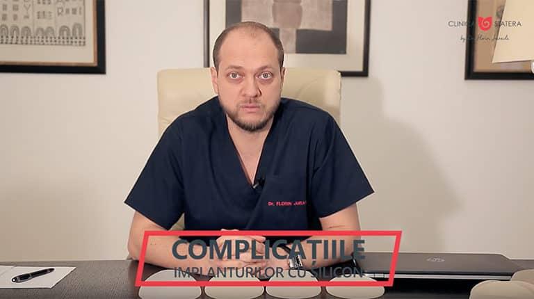 Complicatii implant mamar silicoane, explicate de Dr Juravle - thumb